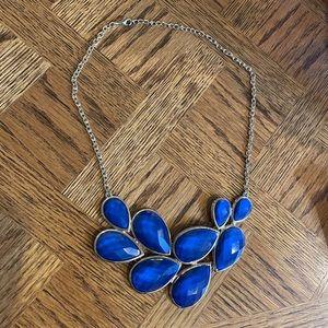 Blue Formal Necklace